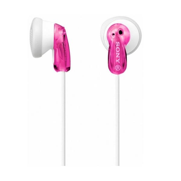 Sony mdre9lpp auriculares de botón rosa conector en 90º