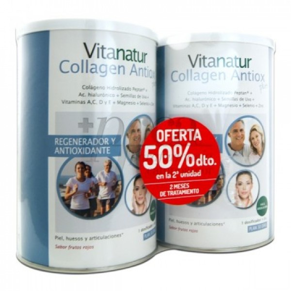 VITANATUR COLLAGEN ANTIOX PLUS 2X 360G PROMO