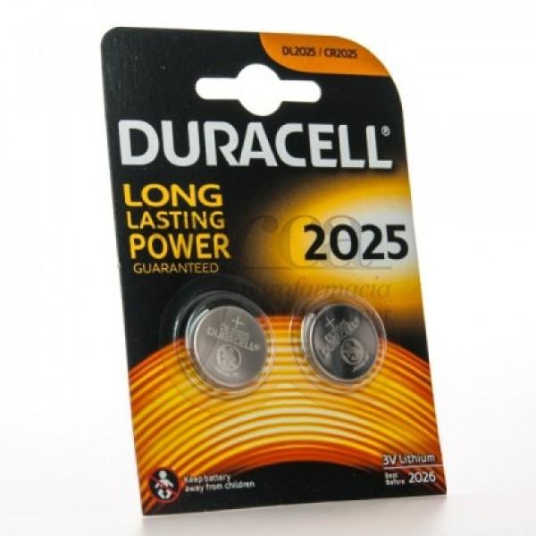 DURACELL DL 2025 3V 2 BATERIAS DE LITIO