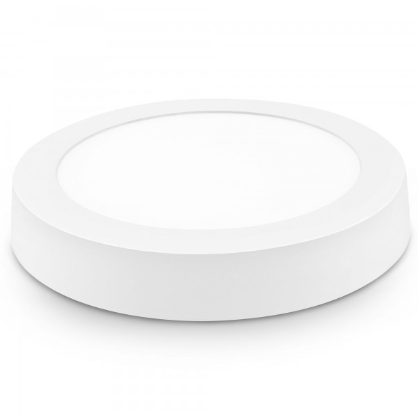 Downlight led superf.redon.blanco 24w.ne