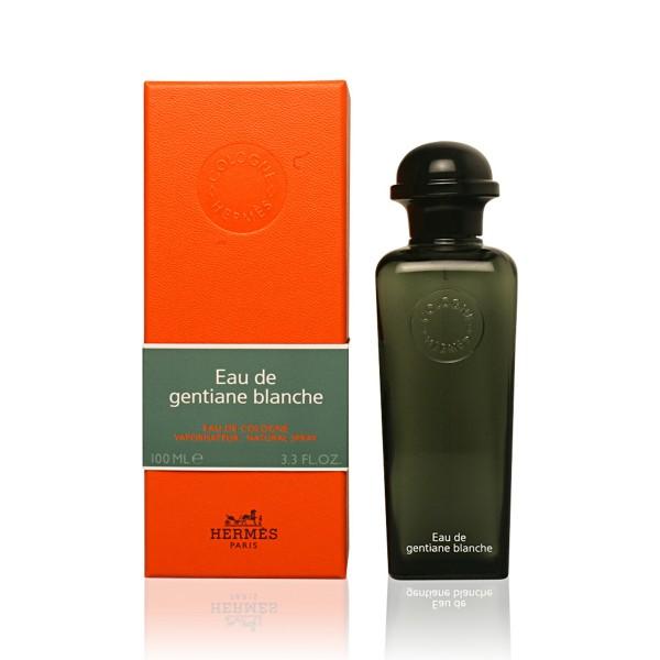Hermes gentiane blanche eau de cologne 100ml vaporizador