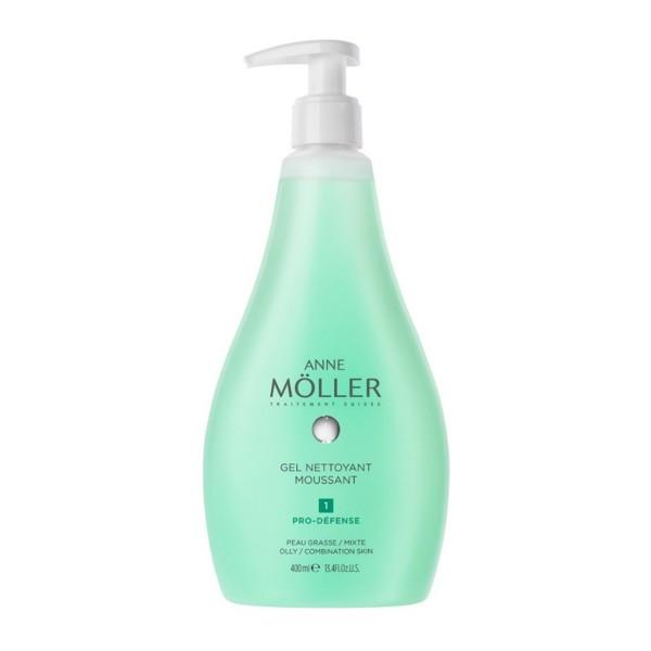 Anne moller desmaquillante gel nettoyant moussant 400ml