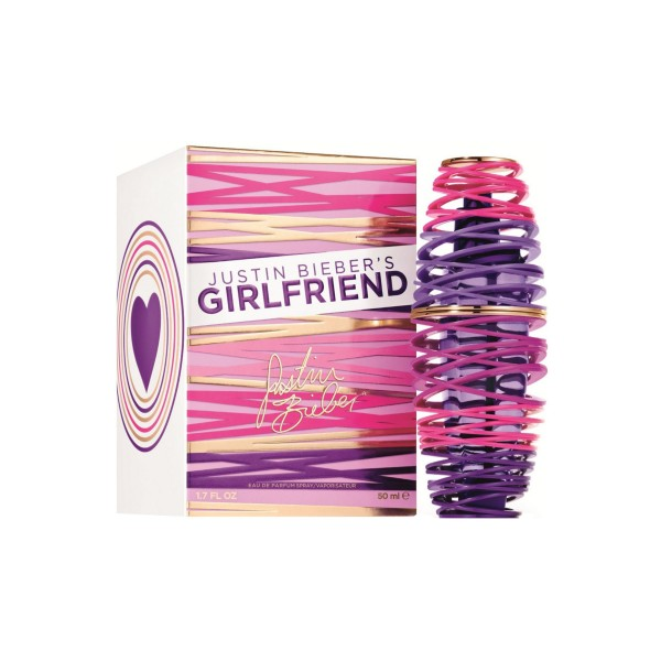 Justin bieber girlfriend eau de parfum 50ml vaporizador