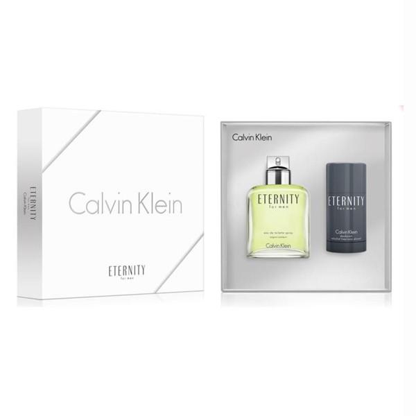 SET Calvin klein eternity for men eau de toilette 100ml vaporizador + desodorante stick 75gr