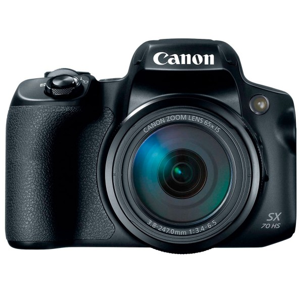 Canon powershot sx70hs negro cámara de fotos digital 20.3mp uhd zoom óptico 65x wifi