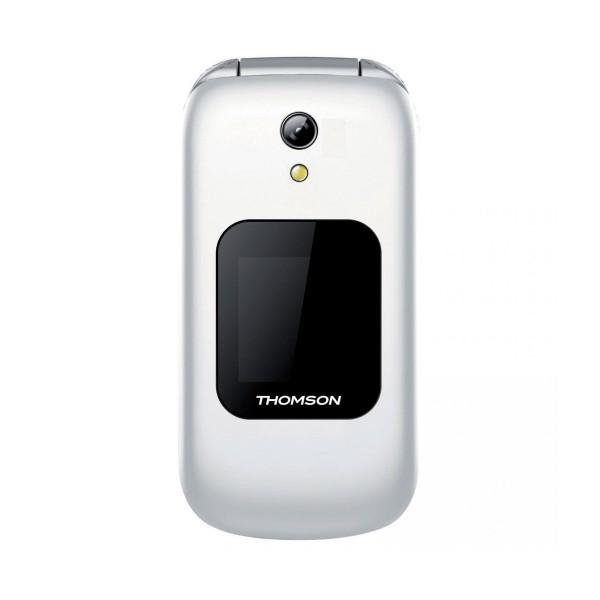 Thomson serea 66 blanco móvil senior plegable 2.4'' tft bluetooth cámara microsd radio fm