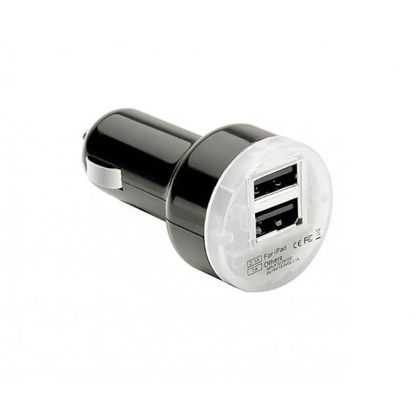 """Cargador doble USB de 2.1mA """"PULSE MOBILE PRO"""" para  tablets y Smartphones"""