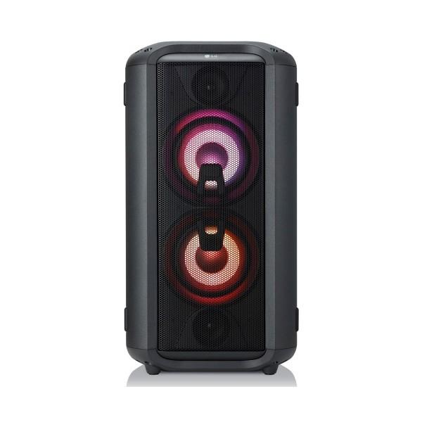 Lg xboom rl4 sistema de audio de alto voltaje portatil 150w bluetooth usb funciones dj y karaoke