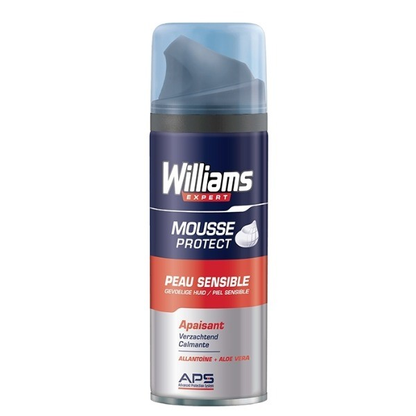 Williams Mousse Protect espuma de afeitar 200 ml