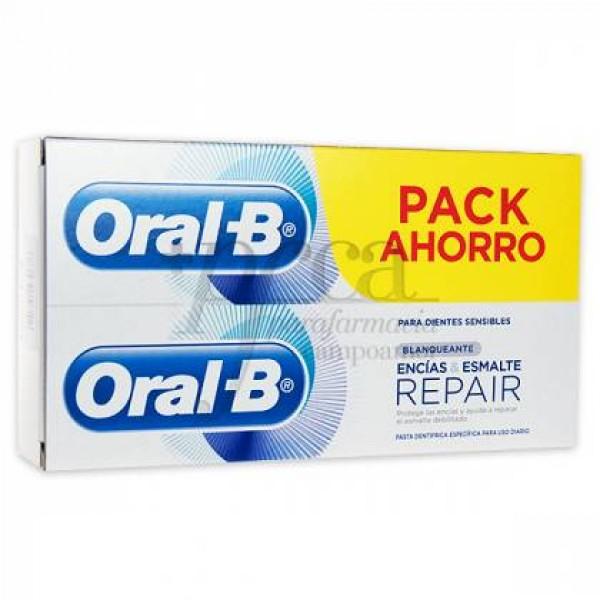 ORAL-B ENCIAS Y ESMALTE REPAIR BLANQUEANTE PROMO