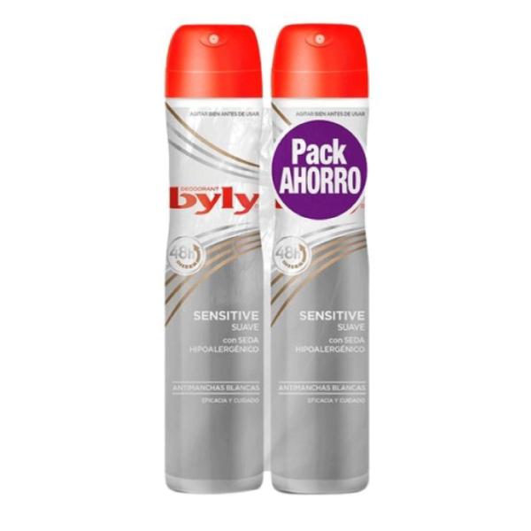 Byly deodorant Roll-On Sensitive Pack Ahorro 200 ml + 200 ml