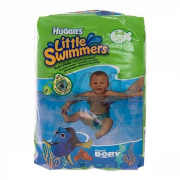 HUGGIES LITTLE SWIMMERS T3-4 7-15KG 12U