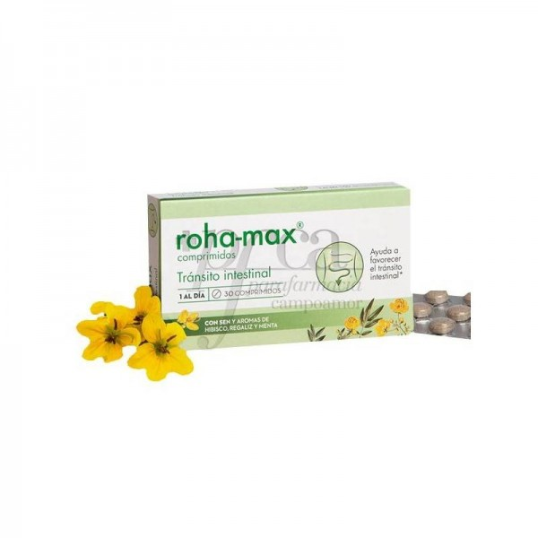 ROHA-MAX TRANSITO INTESTINAL 30 COMPS