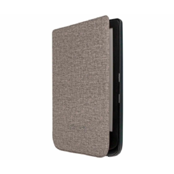 Pocketbook cover 6'' gris oscuro origami funda libro electrónico pocketbook touch lux 4 / 5 / hd 3+