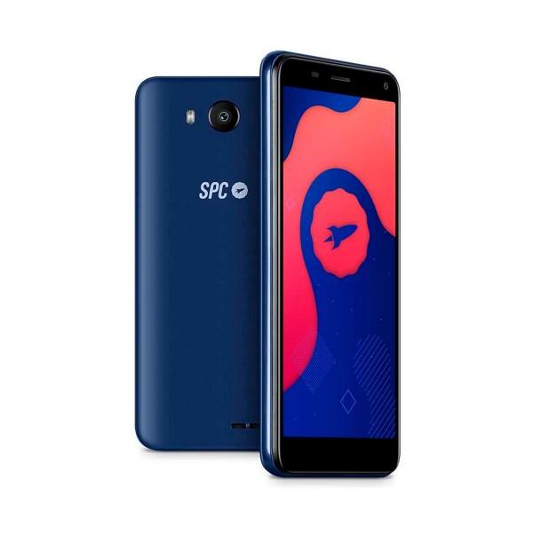 Spc smart lite azul móvil 3g dual sim 5'' fwvga quadcore 16gb 1gb ram cam 5mp selfies 2mp