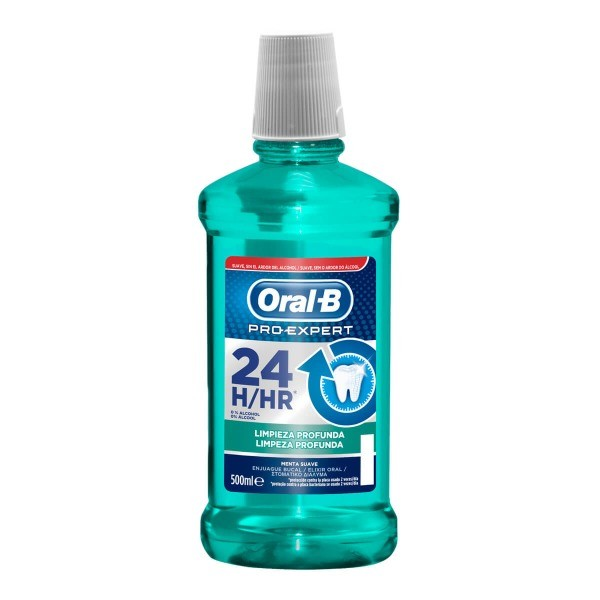 ORAL-B pro-expert Limpieza Profunda  colutorio 500 ml