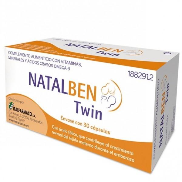 NATALBEN TWIN 30 CAPS