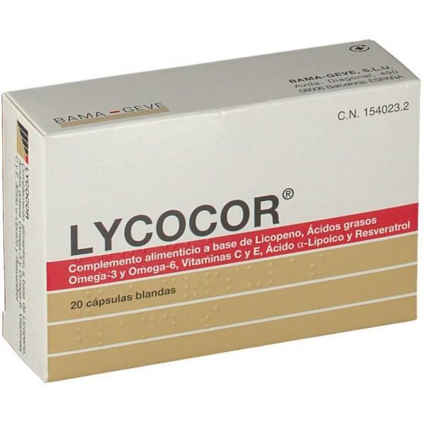LYCOCOR 20 CAPS